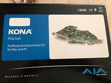 Aja Kona Lhi Multi-Format Sd/Hd Analog & Digital I/O Pcie Card (Kona-Lhi) New!