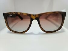 Brand New Ray-Ban Rb4165 Justin 710/13 Tortoise Brown/Brown Gradient