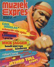 MAGAZINE MUZIEK EXPRES NOVEMBER 1974  - DAVID BOWIE/JETHRO TULL/SLADE/ELTON JOHN
