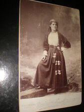 Cabinet photograph Winifred Emery by Boning & Small St Leonards-on-sea c1900s