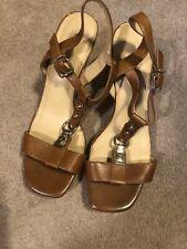 Antonio Melani Wedge Sandals Size 8 EUC