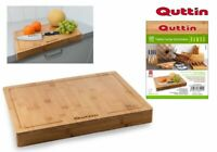 Quttin Top quality Bamboo cutting board chopping board rectangular 45X35X1.2CM