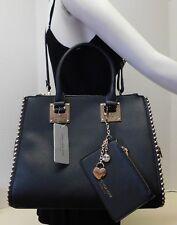 Marc New York Signature Black Doctor Tote Shoulder Bag Handbag w/Coin Purse 2pc