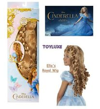 Disney Princess Cinderella ELLA'S ROYAL LOCKS Shimmer WIG LONG Dress Up Costume