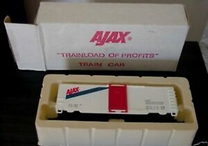 NOS Ajax Trainload of Profits  HO Train Car 1988 With Box Promo Life-Like