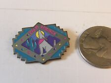 PALM SPRINGS DESERT SUNSET WOLF HOWLING CACTUS TRAVEL PIN