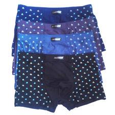 """4PCS Ultra Soft Men's Bamboo Fiber Underwear Boxer Briefs SZ US M 30""""-36""""4Colors"""