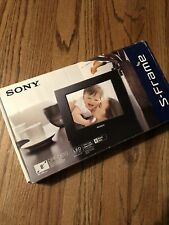 Sony S-Frame Digital Photo Frame - Model DPF-D810 - BRAND NEW!!