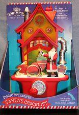 MUSICAL SANTA'S CHECKLIST CHRISTMAS DECORATION Magic Hallmark Northpole Kids NEW
