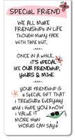 Special Friend Inspired Words Magnetic Bookmark Sentimental Gift Range