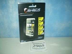 NEW 2013 Zagg Invisible Shield HTC One High Definition Scratch Screen Protection