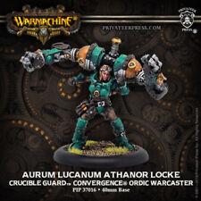 WARMACHINE AURUM LUCANUM ATHANOR LOCKE CRUCIBLE GUARD PIP 37016