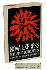 Nova Express by WILLIAM S. BURROUGHS ~ SIGNED First Edition 1964 ~ Beats 1st