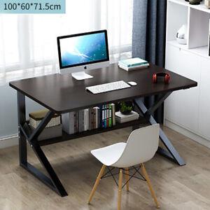 100x60cm Computer Desk Kid Study Writing Home Workstation Dressing Table + Legs