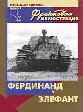 FRI-019 Ferdinand and Elephant German WW2 Self-Propelled Guns book