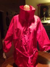 Marc Aurel Red Rain Jacket Belted Sz 44