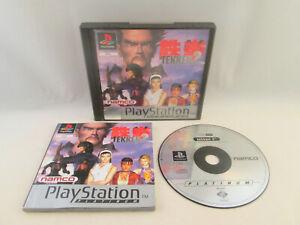 Sony Playstation 1 PS1 - Tekken 2 (Platinum)