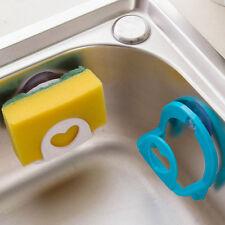 Hot Pratical Sponge Holder Suction Cup Convenient Home Kitchen Holder Kit Tools