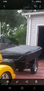 2013 Bunkhouse motorcycle tent camper
