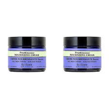 2 PCS Neal's Yard Remedies Frankincense Nourishing Cream 1.76oz, 50g
