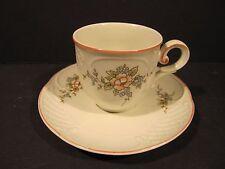 Villeroy Boch Porcelain Cabinet Demitasse Cup & Saucer Danbury Mint Collection