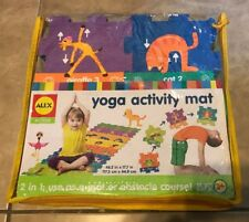 Alex Active Yoga Activity Mat & Obstacle Course 25 Pc NEW in storage case
