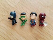 Marvel & DC Collectable Figures -Superman, Batman, Spiderman & Green Lantern