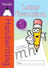 Morrells Handwriting Books Letter Formation Writing Cursive Practice Workbook 3