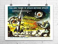 Journey To The Seventh Planet Vintage Sci-Fi Movie Poster Canvas Giclee 30x24 in