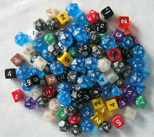MISPRINT Over 1/2 a Pound! Bulk assorted RPG die lot.