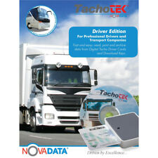 TachoTek Digital Tachograph Software with Driver Card Reader - Easy to Use