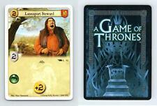 Lannisport Steward #L 52 A Game Of Thrones 2008 LCG Card