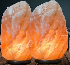 2 X 3-5 Kg Himalayan Pink Salt Rock Crystal Lamp Natural Healing Ionizing Lamps2