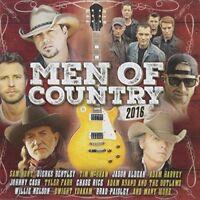 MEN OF COUNTRY 2016 2CD NEW Sam Hunt Jason Aldean Tyler Farr Adam Brand