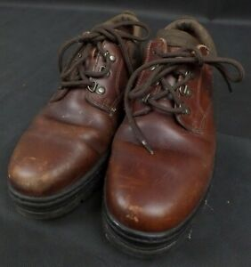 Men's Brown Leather Timberland Shoes-SIZE 10(45)