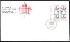 Canada     # 923 ULpb    MAPLE LEAF     Brand New 1982 Unaddressed Cover