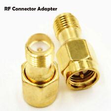 Fiche mâle 2PCS SMA à la prise femelle RP-SMA Adaptateur RF droit