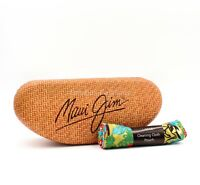 Maui Jim Case Hard Clamshell & Cleaning Cloth Pouch Large Size for Sunglasses