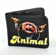 The Muppets Animal Bi-folding Wallet Faux Leather Retro Official