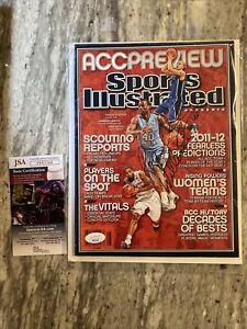 Roy Williams & Harrison Barnes Auto Signed SI Magazine; JSA COA; UNC Tar Heels
