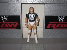 WWE BO DALLAS MATTEL WRESTLING FIGURE BO LIEVE T SHIRT WWF LOT