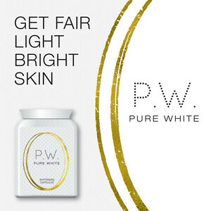PURE WHITE WHITENING CAPSULES LIGHTENING TABLET SAFE STOP MELASMA PATCHES