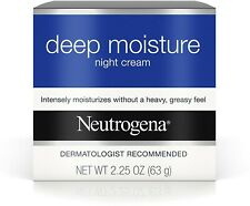 Neutrogena Deep Moisture Night Cream 2.25 oz