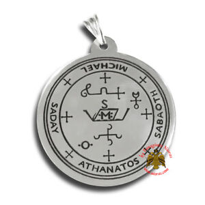 Orthodox Protection Stamp of Archangel Michael Amulet Schutz Erzengel Michael