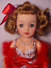 "Vintage 1950s 18"" MISS REVLON DOLL - VT-18 Black and White Formal w/ Accessories"