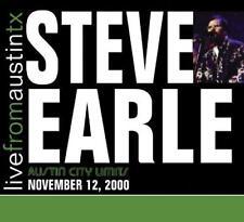 Steve Earle - Live From Austin Texas '00 (NEW CD)