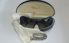 CHOPARD WOMEN GRADIENT SUNGLASSES WRAP AROUND SHIELD BLUE CH 145305 Hard to find