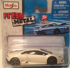 Maisto Fresh Metal 2010 Lamborghini Huracan LP 610-4 Die-cast car scale 1/64.