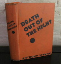 Death Out of the Night. by Anthony Wynne - First American edition