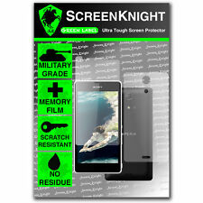 ScreenKnight Sony Xperia ZR FULL BODY SCREEN PROTECTOR invisible military shield